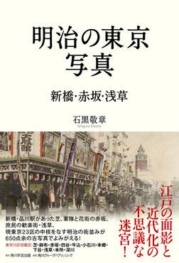 明治の東京写真 新橋・赤坂・浅草-電子書籍