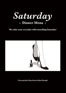Saturday -Dinner Menu--電子書籍