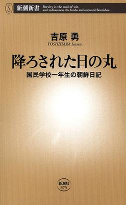 降ろされた日の丸―国民学校一年生の朝鮮日記―-電子書籍