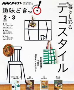 NHK 趣味どきっ!(月曜) 暮らし彩るデコスタイル2019年2月~3月-電子書籍