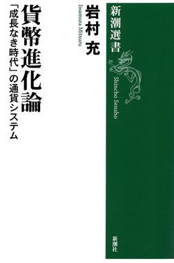 貨幣進化論―「成長なき時代」の通貨システム―(新潮選書)-電子書籍