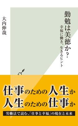 勤勉は美徳か?~幸福に働き、生きるヒント~-電子書籍