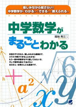 中学数学がまるごとわかる-電子書籍