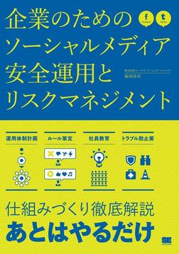企業のためのソーシャルメディア安全運用とリスクマネジメント-電子書籍