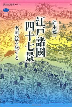 江戸諸國四十七景 名所絵を旅する-電子書籍