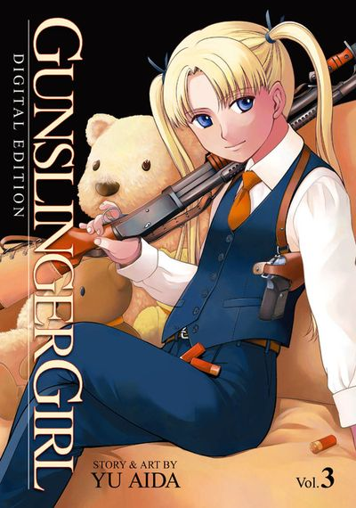 Gunslinger Girl Vol. 3