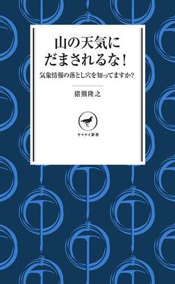 ヤマケイ新書 山の天気にだまされるな-電子書籍