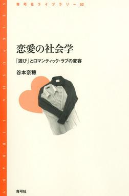 恋愛の社会学 「遊び」とロマンティック・ラブの変容-電子書籍