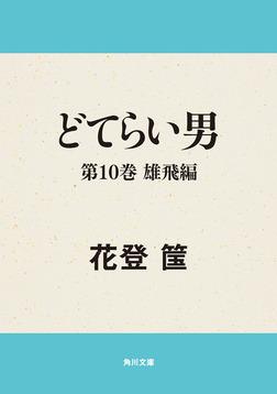 どてらい男 第10巻 雄飛編-電子書籍