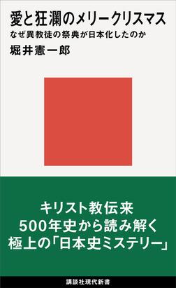 愛と狂瀾のメリークリスマス なぜ異教徒の祭典が日本化したのか-電子書籍