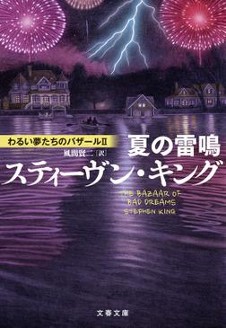 夏の雷鳴 わるい夢たちのバザールII-電子書籍