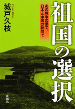 祖国の選択―あの戦争の果て、日本と中国の狭間で―-電子書籍