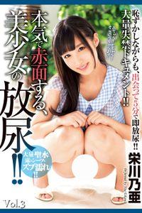 【顔射】本気で赤面する、美少女の放尿!! Vol.3 / 栄川乃亜