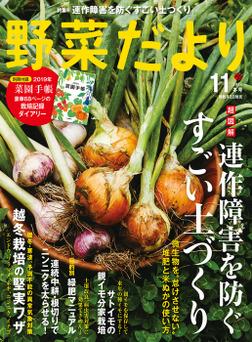 野菜だより2018年11月号-電子書籍