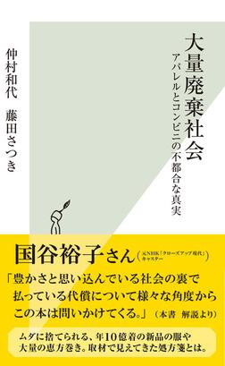 大量廃棄社会~アパレルとコンビニの不都合な真実~-電子書籍