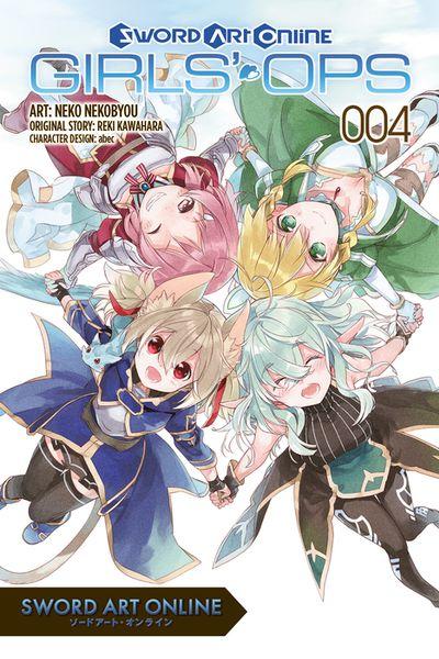 Sword Art Online: Girls' Ops, Vol. 4