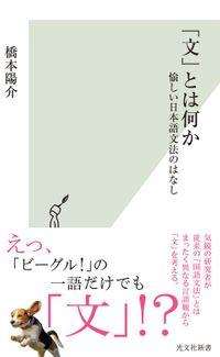 「文」とは何か~愉しい日本語文法のはなし~