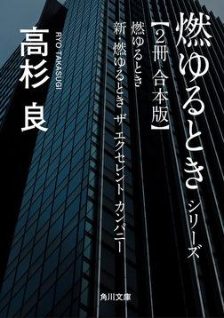 燃ゆるときシリーズ【2冊 合本版】 『燃ゆるとき』+『新・燃ゆるとき ザ エクセレント カンパニー』-電子書籍