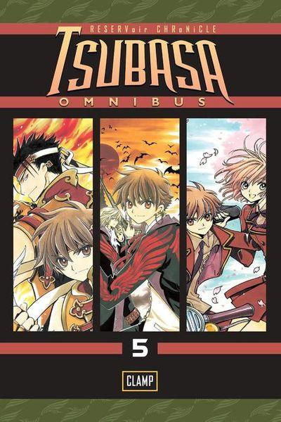Tsubasa Omnibus 5