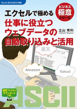 ビジネス極意シリーズ エクセルで極める 仕事に役立つウェブデータの自動取り込みと活用-電子書籍