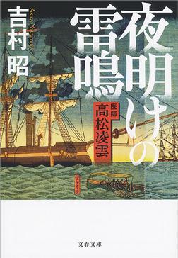 夜明けの雷鳴 医師 高松凌雲-電子書籍