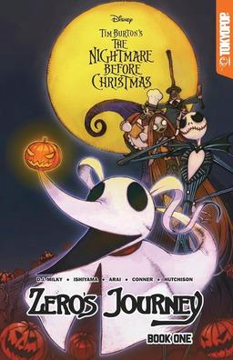 Disney Manga: Tim Burton's The Nightmare Before Christmas: Zero's Journey Book #1