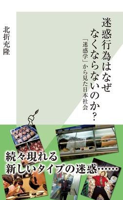 迷惑行為はなぜなくならないのか?~「迷惑学」から見た日本社会~-電子書籍