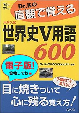 Dr.Kの直観で覚える世界史V用語600-電子書籍