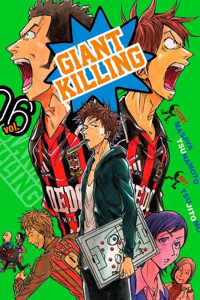 Giant Killing Volume 6