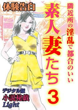 【体験告白】隣近所の淫乱で都合のいい素人妻たち3-電子書籍