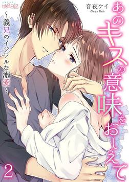 あのキスの意味をおしえて~義兄のイジワルな溺愛~ 2-電子書籍