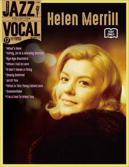 JAZZ VOCAL COLLECTION TEXT ONLY 17 ヘレン・メリル-電子書籍