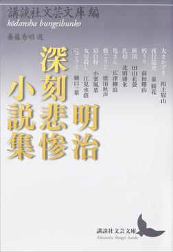 明治深刻悲惨小説集-電子書籍