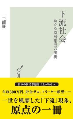 下流社会~新たな階層集団の出現~-電子書籍