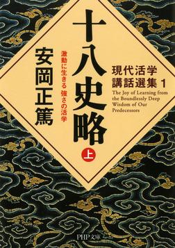 現代活学講話選集1 十八史略(上) 激動に生きる 強さの活学-電子書籍