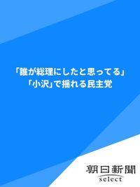 「誰が総理にしたと思ってる」 「小沢」で揺れる民主党