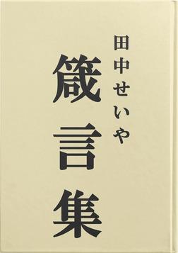 田中せいや箴言集-電子書籍