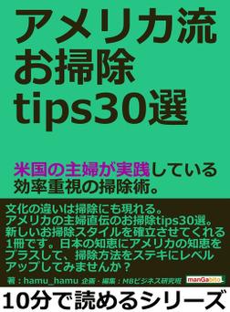 アメリカ流お掃除tips30選。米国の主婦が実践している効率重視の掃除術。-電子書籍