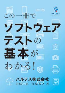 この一冊でソフトウェアテストの基本がわかる!-電子書籍