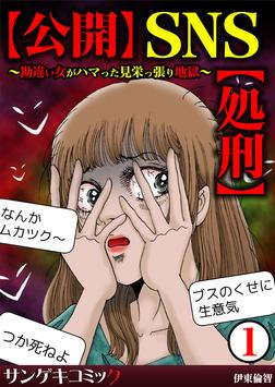 【公開】SNS【処刑】~勘違い女がハマった見栄っ張り地獄~1-電子書籍
