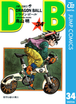 DRAGON BALL モノクロ版 34-電子書籍