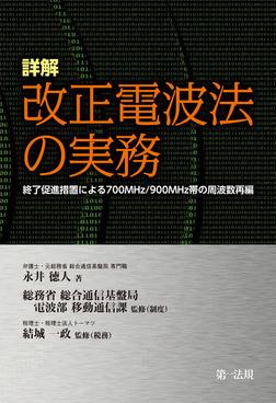 詳解 改正電波法の実務-電子書籍