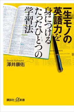 一生モノの英語力を身につけるたったひとつの学習法-電子書籍
