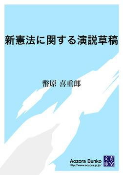 新憲法に関する演説草稿-電子書籍