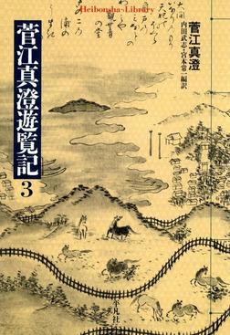 菅江真澄遊覧記 3-電子書籍