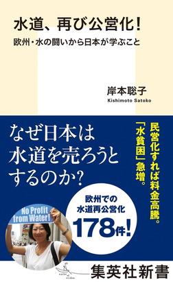 水道、再び公営化! 欧州・水の闘いから日本が学ぶこと-電子書籍