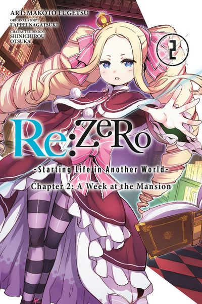 Re:ZERO -Starting Life in Another World-, Chapter 2: A Week at the Mansion, Vol. 2 - Manga