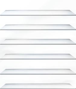 きせかえ本棚 『プラチナ』 【36冊収納】-電子書籍