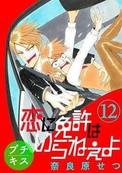 恋に免許はいらねぇよ プチキス(12) Speed.12-電子書籍