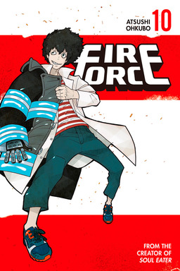 Fire Force Volume 10